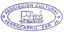 Logo Associació Cultural Ferrocarril de Farja-Benicàssim