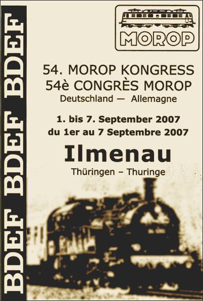 Cartell del 54è Congrés del MOROP