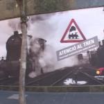 Exposició Atenció al tren a Tarragona