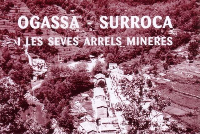 Vista parcial de les Mines de Surroca - Ogassa