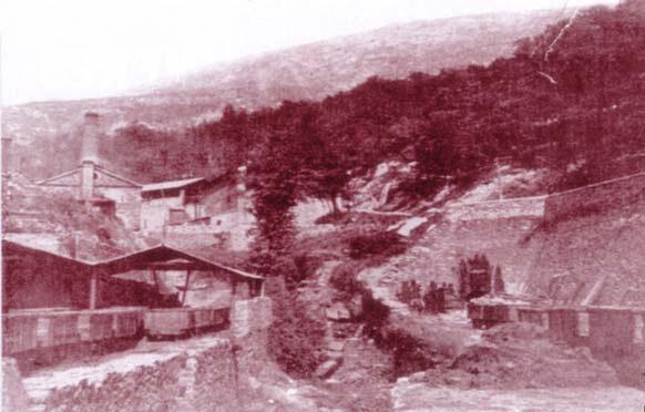 Detall de l'explotació minera