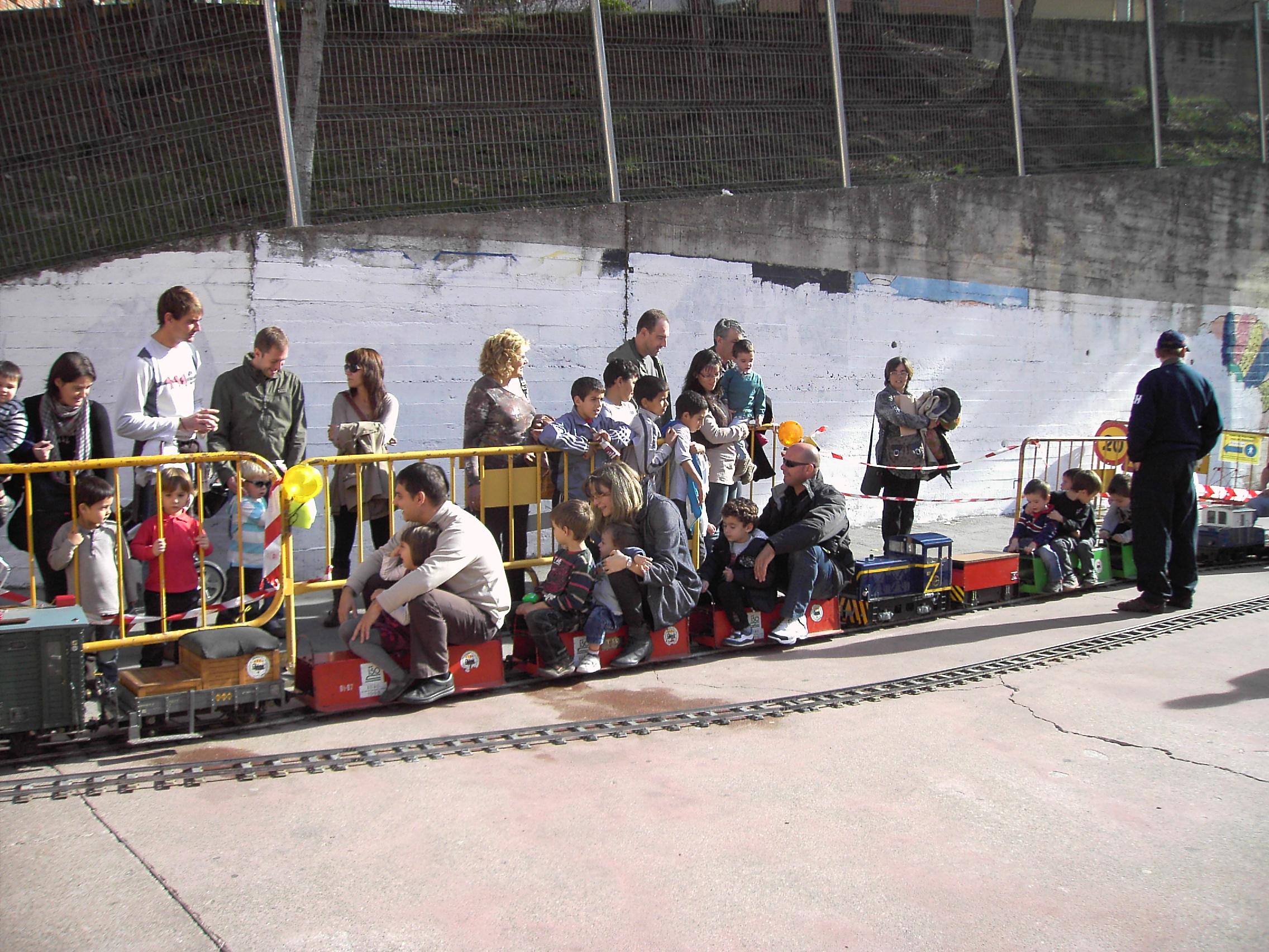 El circuit de tren tripulat