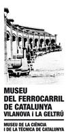 Logo del Museu del Ferrocarril de Catalunya