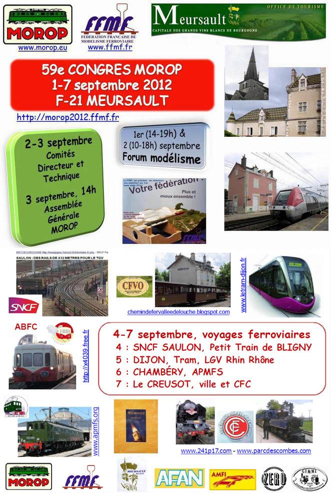 Cartell del 59è Congrés MOROP a Meursault