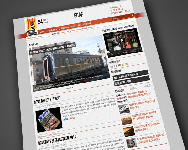 Nou portal de FCAF.CAT