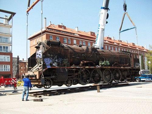 Levante locomotora