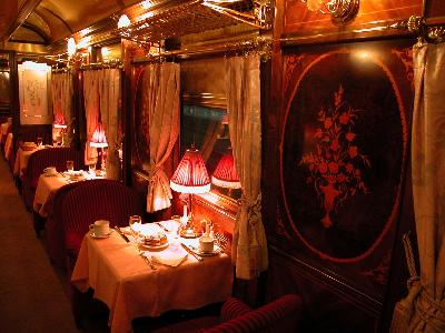 Al Andalus: cotxe restaurant
