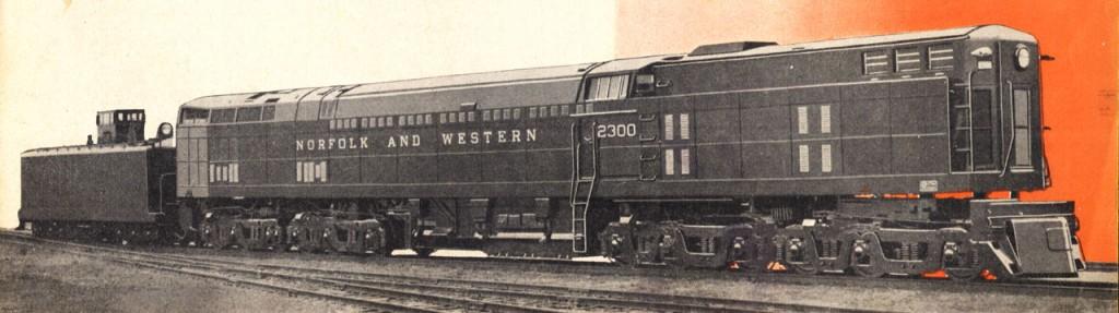 N&W 2300