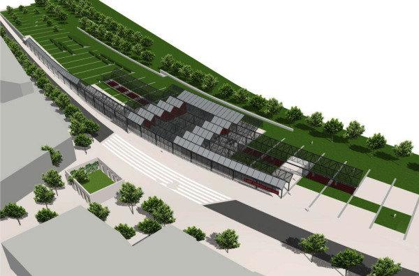 Nova estació de Sant Andreu Comtal