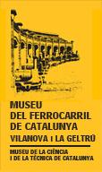logo museu del ferrocarril de catalunya - vilanova i la geltrú