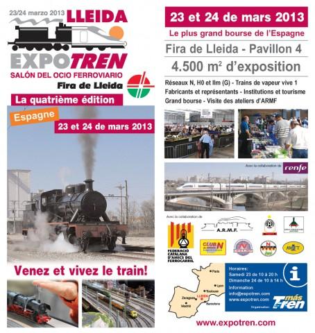 Fulletó Lleida Expo Tren 2013 a ExpoRail