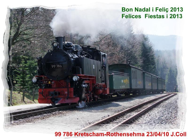 Felicitació de Nadal de Cat Trens Europa