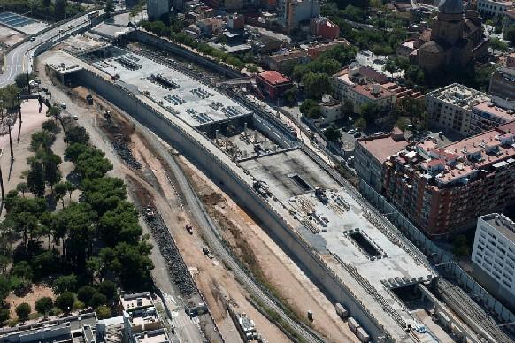 Estació de Sant Andreu Comtal