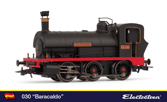 "Locomotora Renfe 030-0230 ""Baracaldo"""
