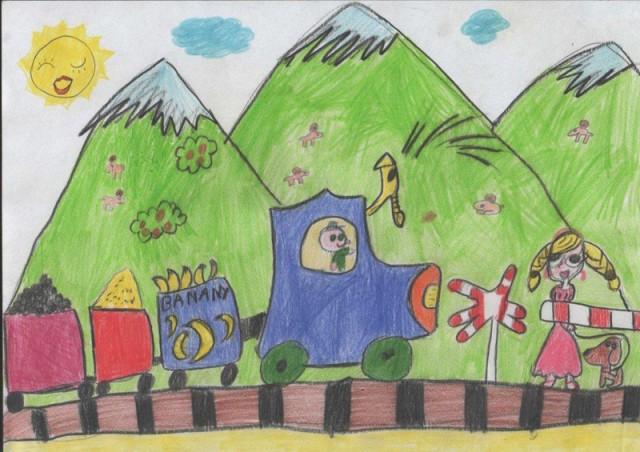 Hanna Kuzia. 6 anys.