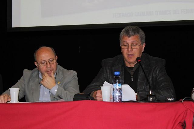 El president, Josep Maria Gelabert, fa un repàs al que ha estat l'any 2012 per a la Federació.