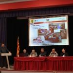 En Daniel Cañardo, vocal de modelisme a escala, explica les participacions de la FCAF i del les associacions a les trobades modulars efectuades el 2012.