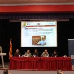En Isaac Guadix, representant de la FCAF a la Comissió Tècnica del MOROP, explicant la trobada a Meursault (França).