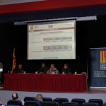 En Alex Mitjans, tresorer de la FCAF, presentant l'estat de comptes de la Federació i els pressupostos per a l'any que ve.