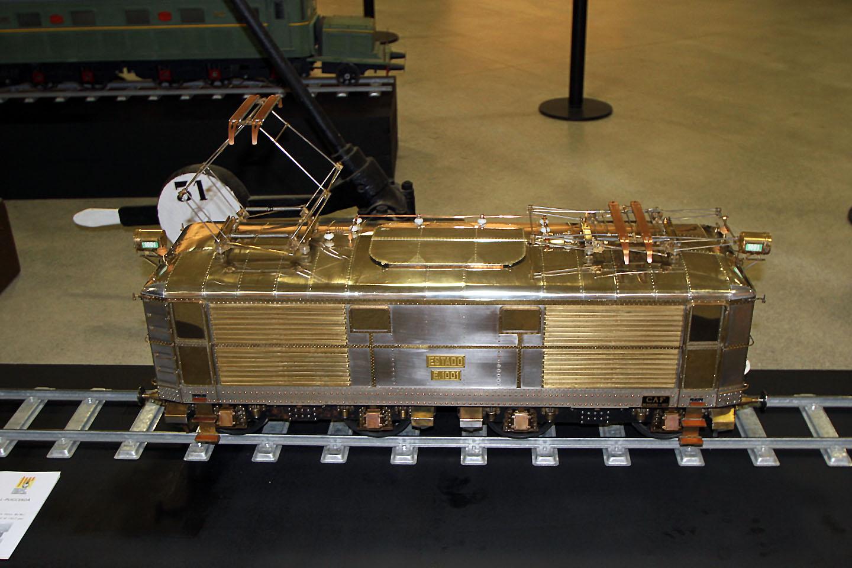 Exposició del Transpirinenc: Locomotora 1000