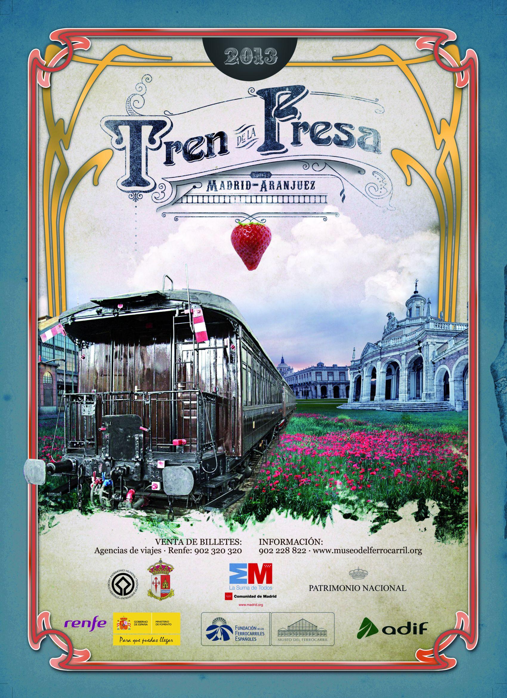 Cartell del Tren de la Fresa 2013