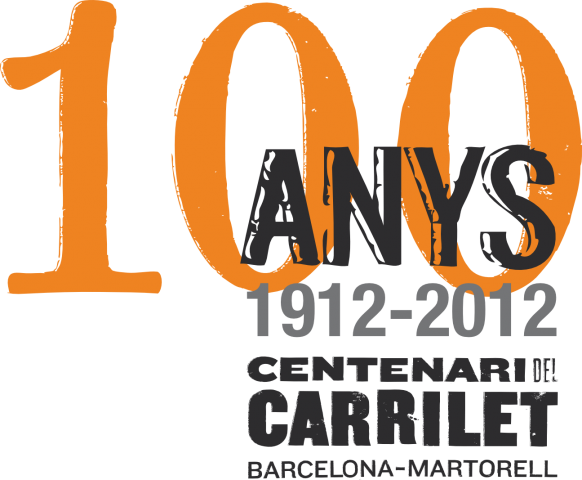 logo centenari carrilet