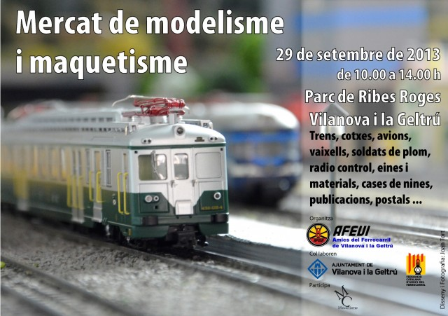 Mercat modelisme Vilanova 2013