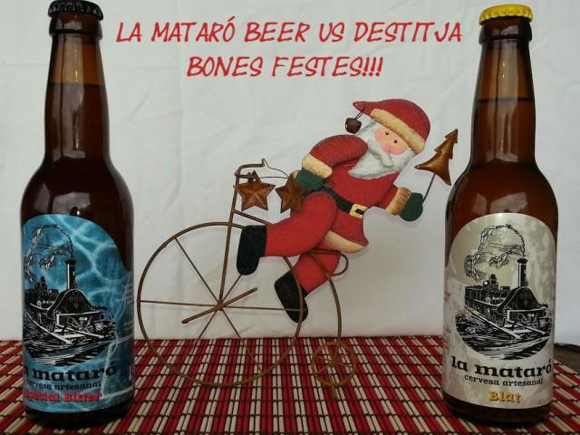 """Felicitació de Nadal de """"La Mataro Beer"""""""