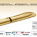 Cartel 5a Jornada Alta Velocidad Irun-2014