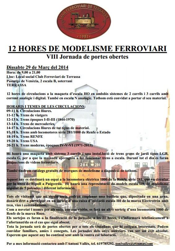 12 hores modelisme Terrassa 2014