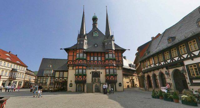 Vistes panoràmiques de Wernigerode