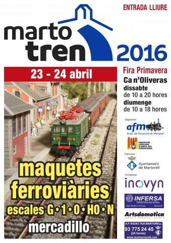 MartoTren2016 cartell A4cat
