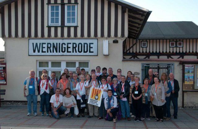El grup de la FCAF al Congrés MOROP 2016 a Wernigerode