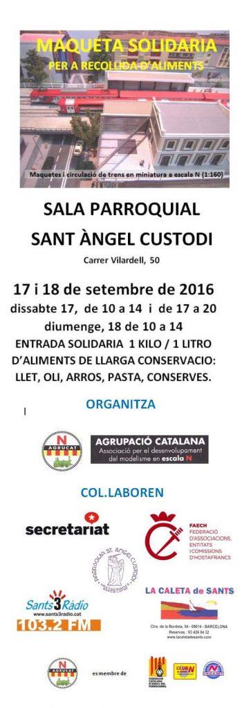 AGRUCAT maqueta solidaria 2016