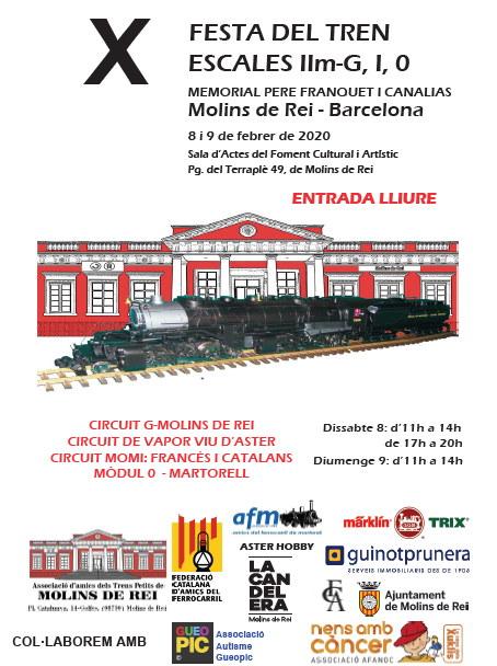X Festa del Tren escala IIm+G+1+0