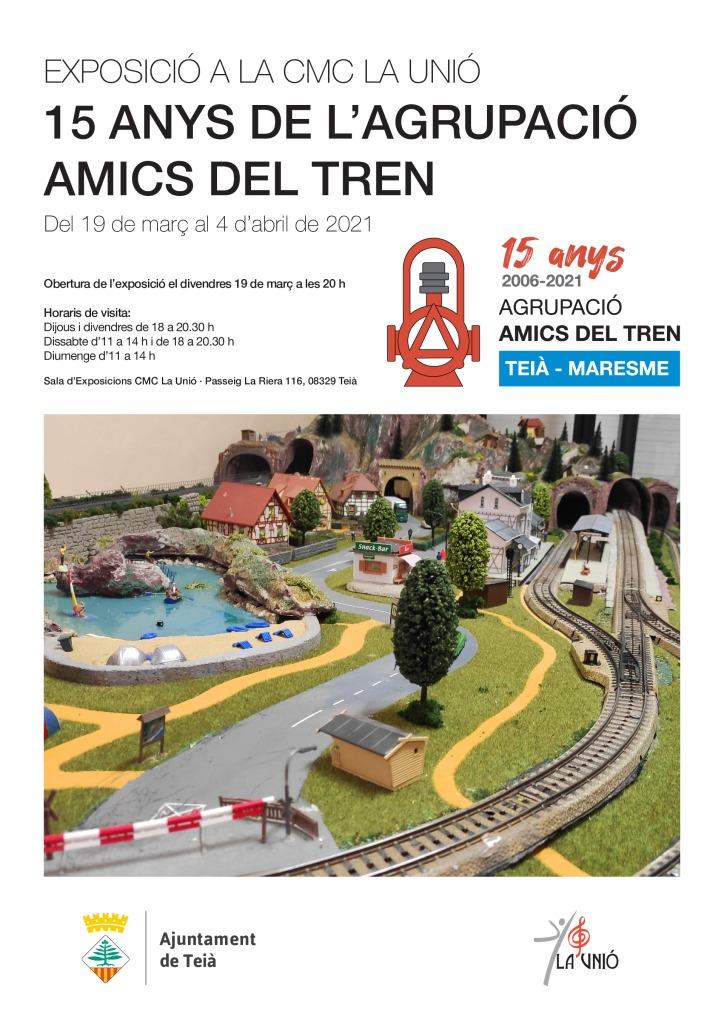 thumbnail of Cartell Expo AMics del Tren A3
