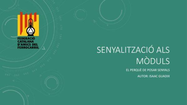 thumbnail of Senyalització als mòduls